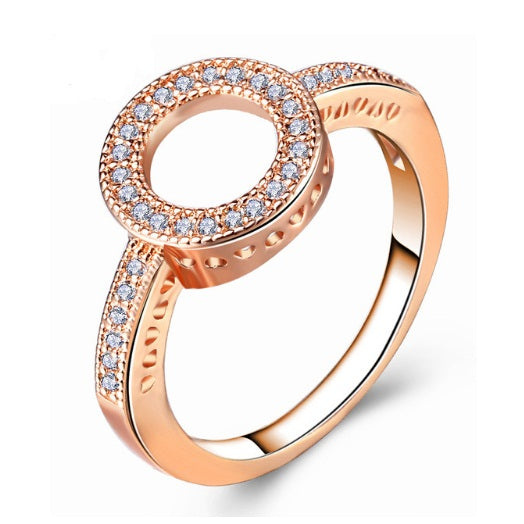 Divine Halo Rings - Romatco Jewelry