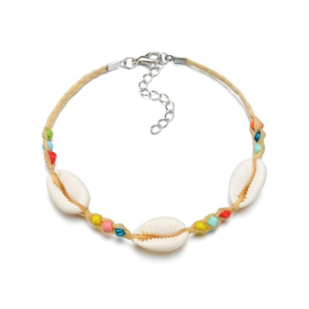 Beads and Shell Charm
