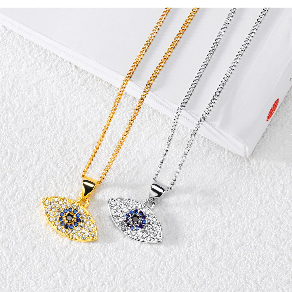 Evil Eye Necklace-Romatco