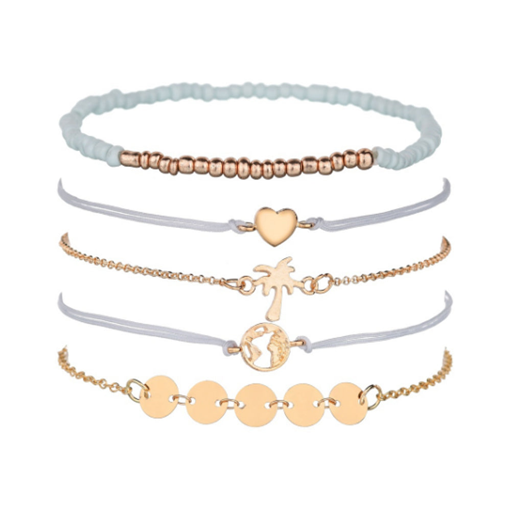 Set of 5 Millennial Bracelet - Romatco Jewelry