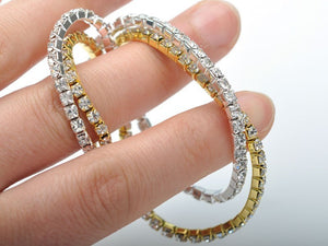 18K White-Gold plated Lillian Bracelet