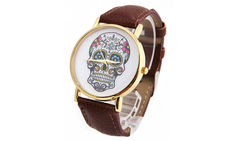 Skull Watch Mens Watch romatco.myshopify.com