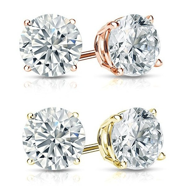 Classic Stud Earrings-Romatco