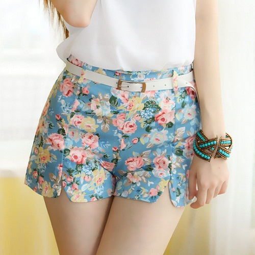 Suzen Short Pant-Light Blue Accessories romatco.myshopify.com