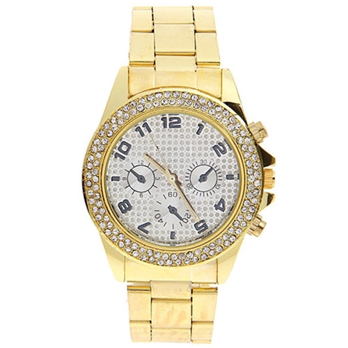 Bella Watch-Golden Watch romatco.myshopify.com
