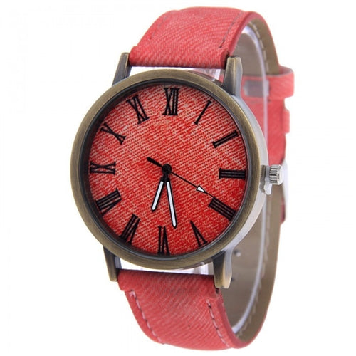 Denny Denim Watch-Romatco