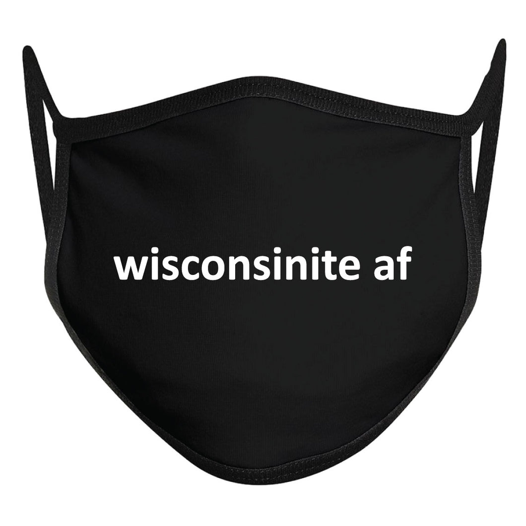 Wisconsinite AF Double-Layer Mask