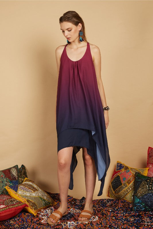 Arela Hi-lo Maxi Dress