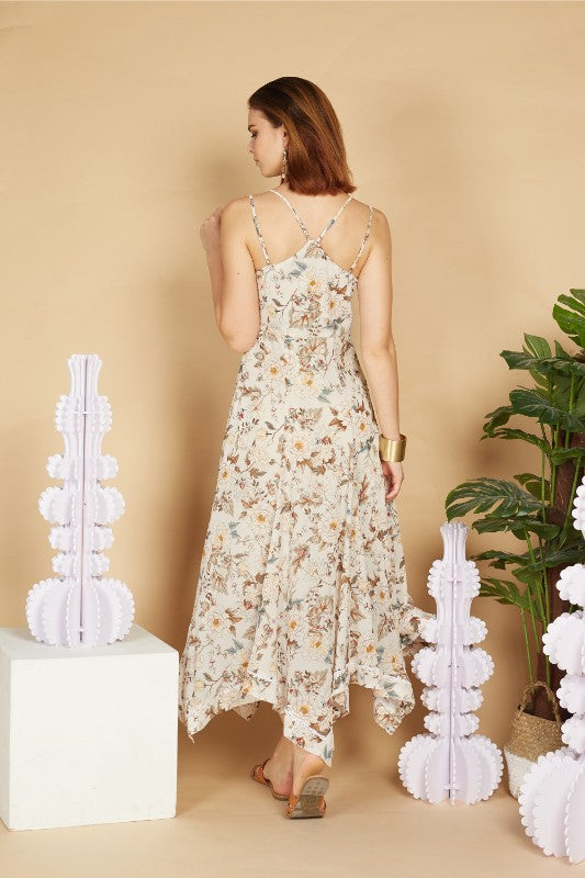 Chyanna Floral Maxi Dress