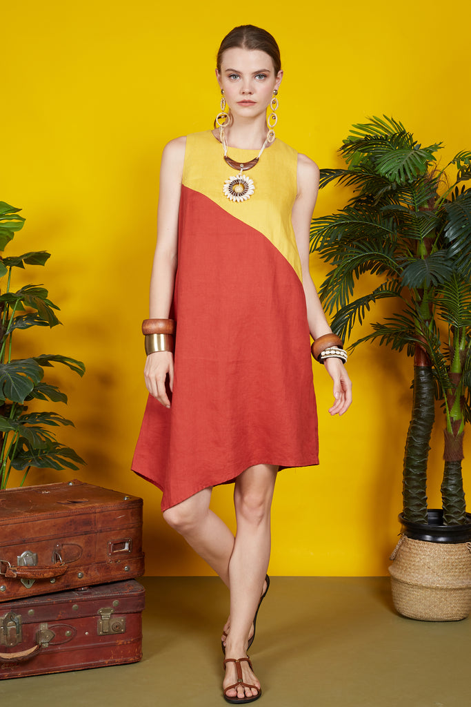 Fiorella Asymmetric Dress