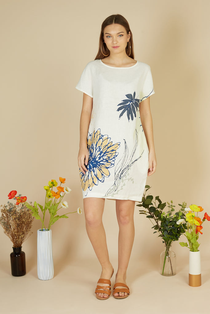Mathis Linen Dress