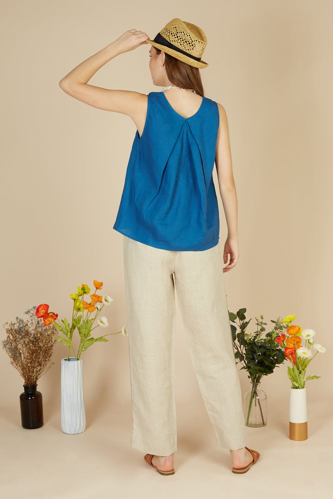 Iris Sleeveless Top
