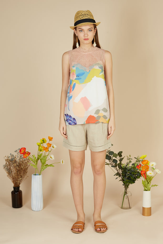 Celine Sleeveless Top