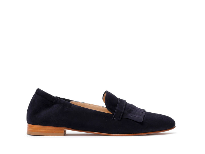 Loafers in suede