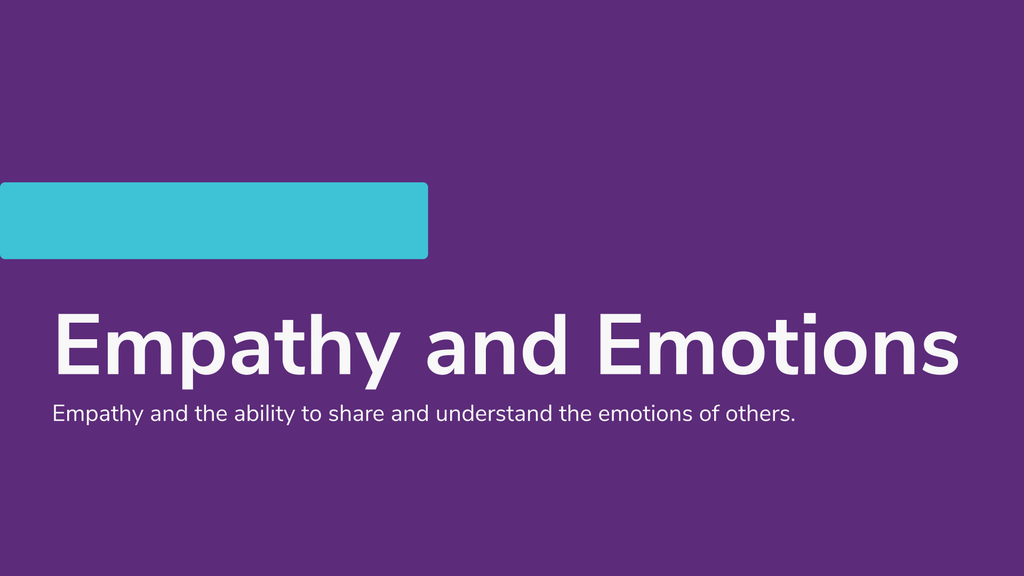Online Learning - Empathy and Emotions - CX ASEAN