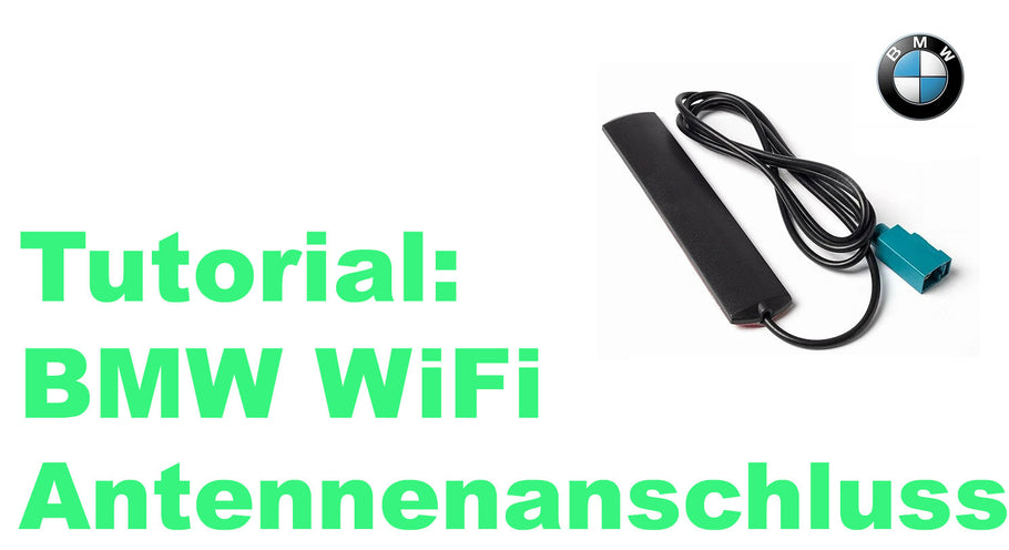 Tutorial : Wifi Antenne Pack Original BMW