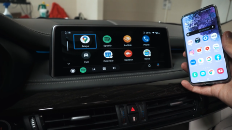 carplay in bmw x5 f15