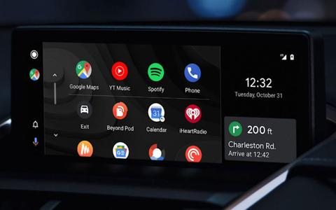 Android Auto mit Android 10