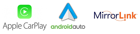 usb carplay androidauto mirrorlink