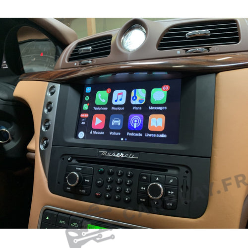 carplay maserati granturismo