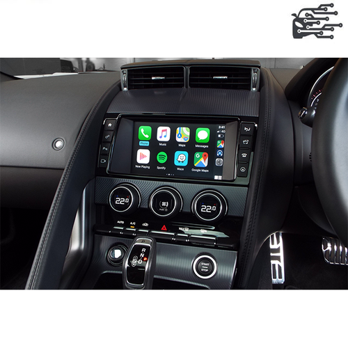 carplay jaguar f-type