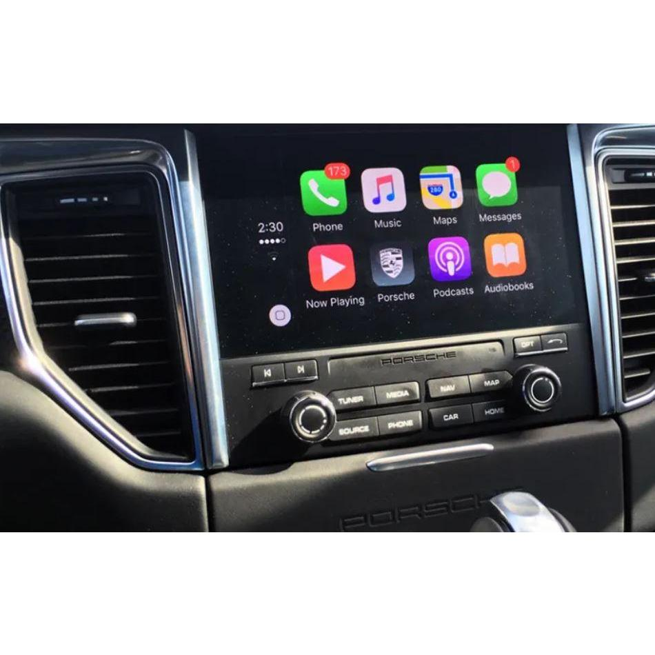 apple carplay porsche pcm 4