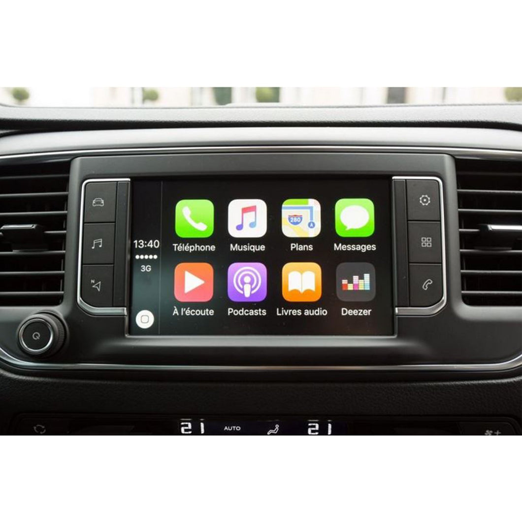 apple carplay toyota proace