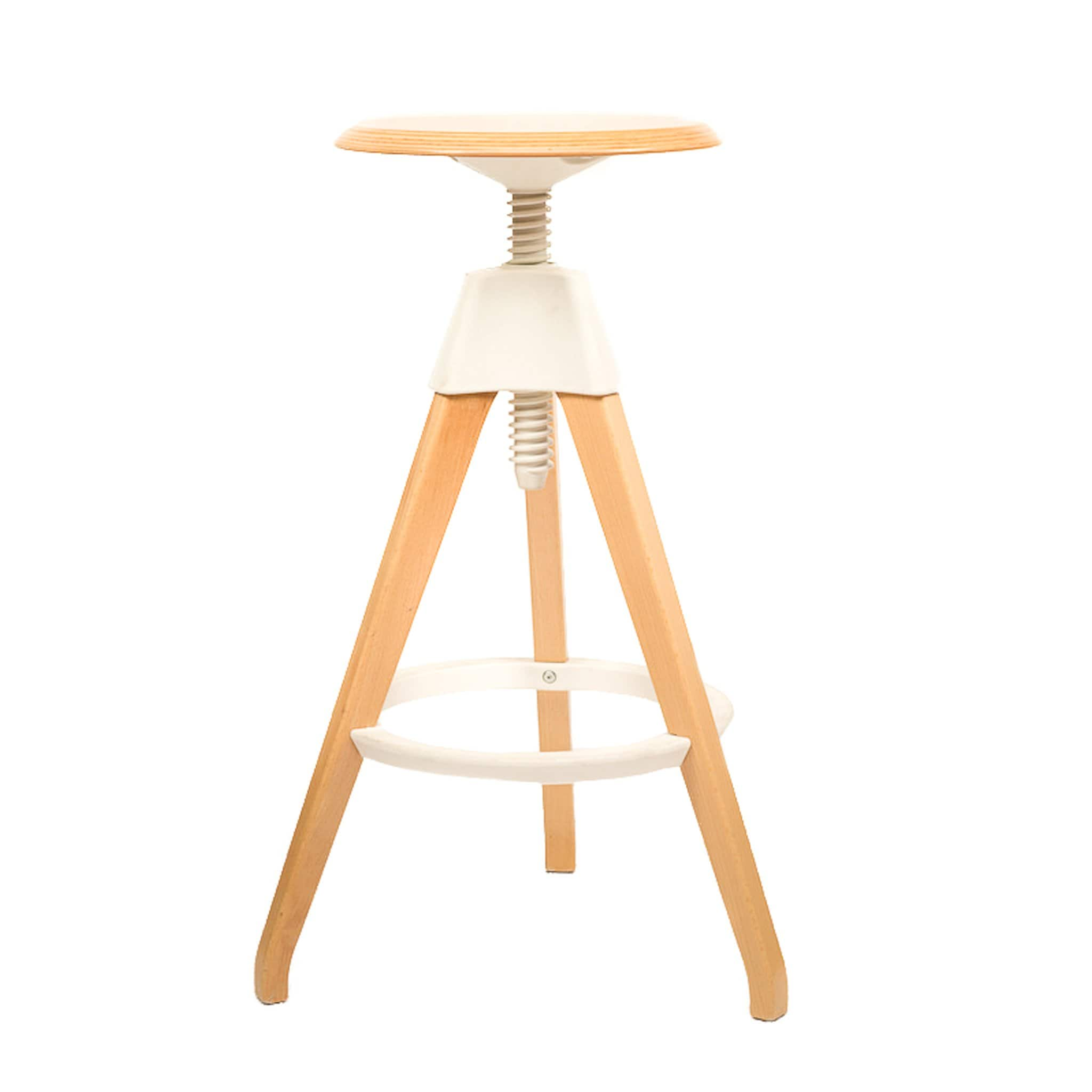 Tony Stool White