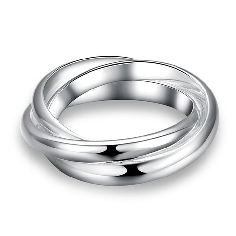 Braided Ring</p> Interlocking