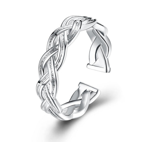 Braided Ring</p>Woven