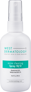 West Dermatology Body Acne Clearing Spray 10/2