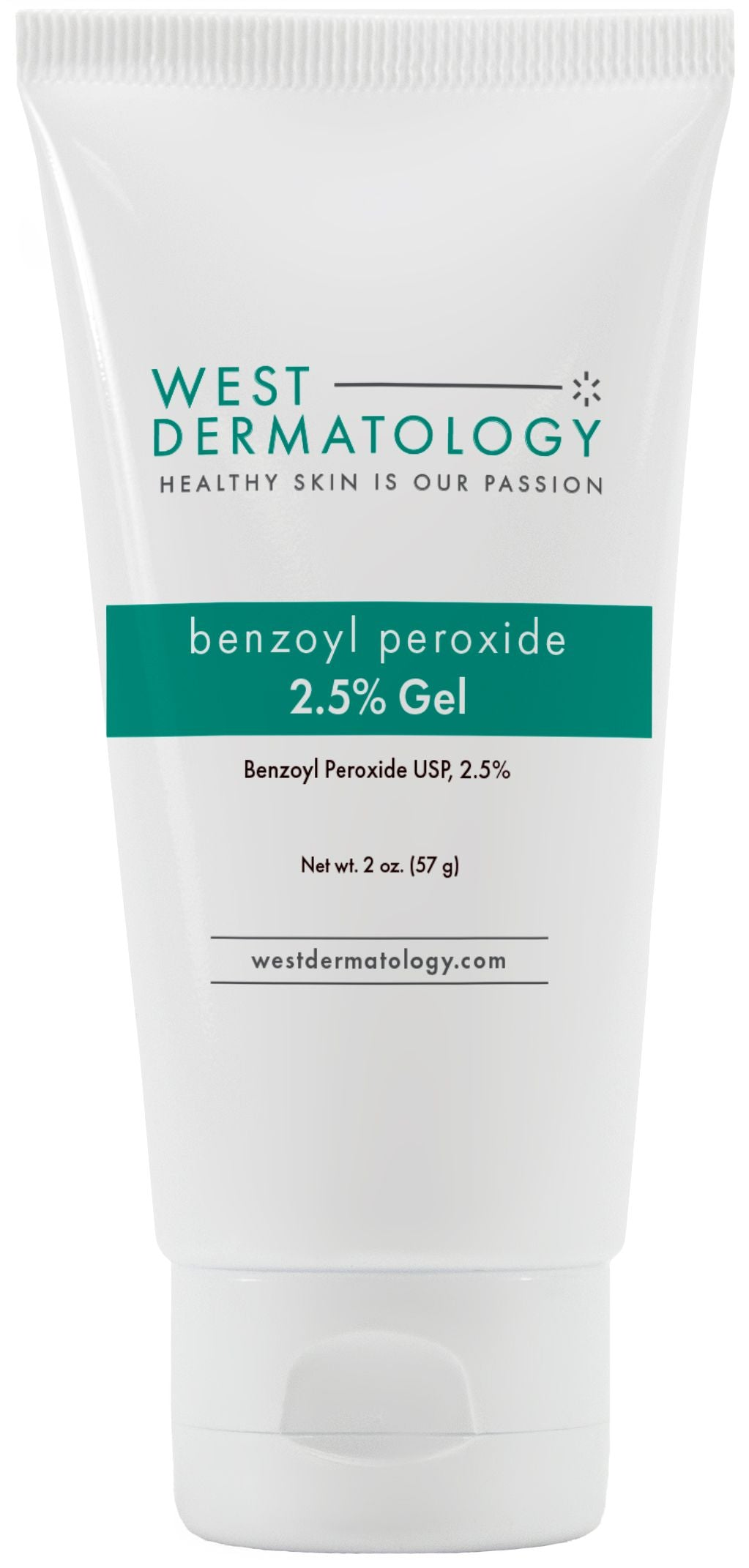 West Dermatology Benzoyl Peroxide 2.5% Gel