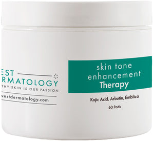 West Dermatology Skin Tone Enhancement Therapy Pads