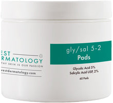 Load image into Gallery viewer, West Dermatology Gly/Sal 5-2 Pads - Glycolic Acid and Salicylic Acid