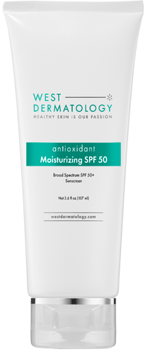 West Dermatology Antioxidant Moisturizing Sunscreen Spf 50+