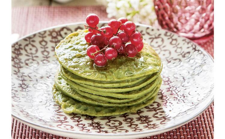 Green Power Pancakes