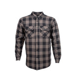 Load image into Gallery viewer, Resurgence Gear® 2020 Riding Shirt PEKEV Motorcycle Riding Shirt - Grey Check
