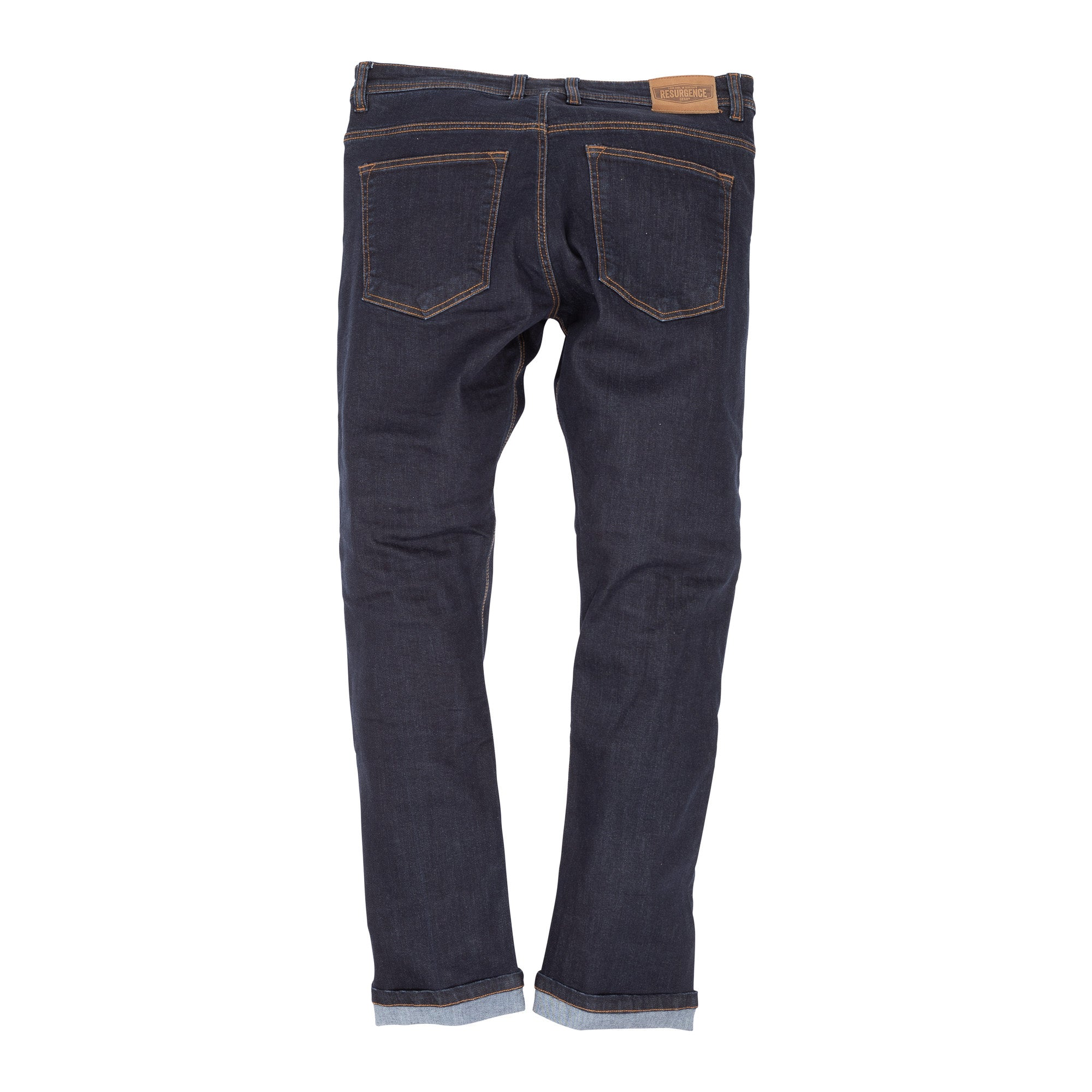 Resurgence Gear 2020 Warrior Indigo Blue PEKEV Lite Motorcycle Jeans