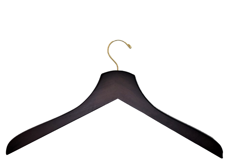 Adult Dark Walnut Deluxe Shirt Hanger Royal Heirloom | from $1.99