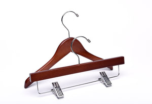 Baby Light Walnut Wooden Hangers Mix- from $0.85 each