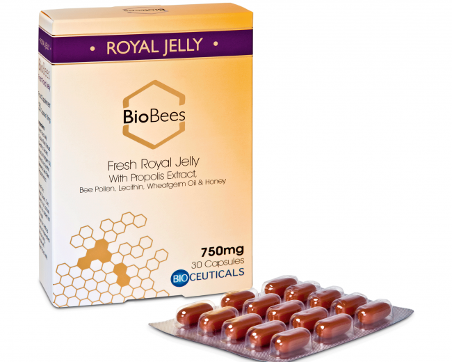 BioBees® Fresh Royal Jelly Capsules (30 capsules)