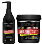 GICHET FERME Anabolisant Capillaire Force and Nutrition Kit Professionel 2x1 - Forever Liss