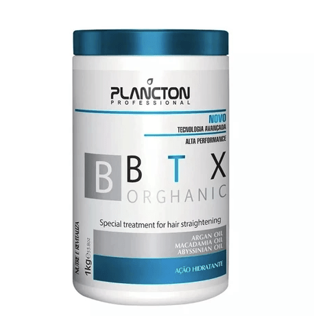 BTX Orghanic Treatment for Hair Straightening 1KG - Plancton Professional