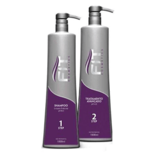 Brazilian Reductor Advanced Progressive Hair Treatment 2x1L - Fit Cosmetics