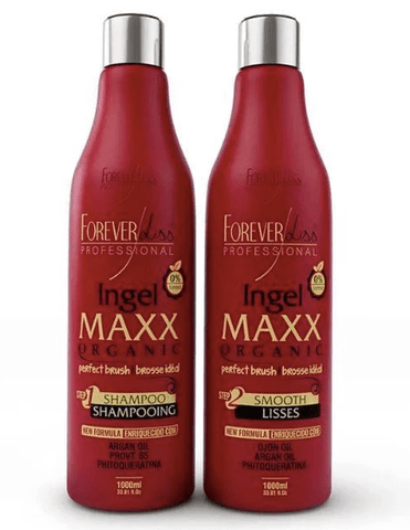 Brazilian Treatment Ingel Maxx Perfect Progressive Brush Kit 2x1L - Forever Liss