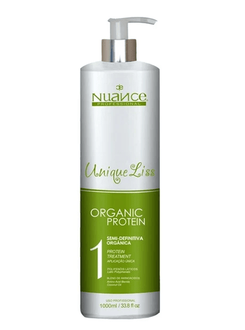 Brazilian Unique Liss Organic Protein No Formol Hair Progressive 1000ml - Nuance