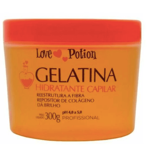 Capillary Gelatine Love Jelly Post Chemical Moisturizing Mask 300g - Love Potion