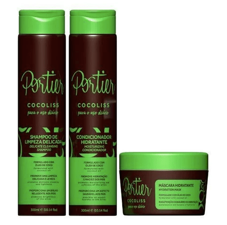 Cocoliss Post Chemical Maintenance Daily Use Kit 3 Products - Portier
