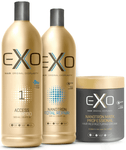 Exoplasty Reconstruction Nanotron Total Repair Kit 3 Products - Exo Hair Professional