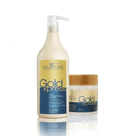 Gold Xpress Treatment Professional Kit 2 Produits - Salvatore